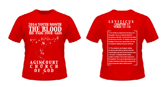 Youth Month 2014 T-Shirts