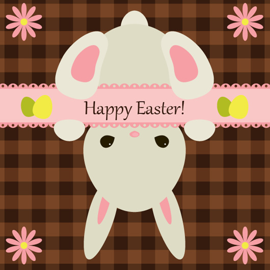 CREATE YOUR OWN EASTER BUNNY GREETING CARD!