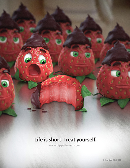 Create a Delicious Print Ad Using Photo Manipulation Techniques in Photoshop