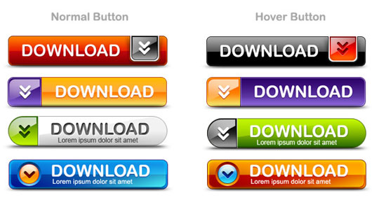 Download-buttons-PSD-pack