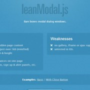 Helping Free jQuery Modal Plugins
