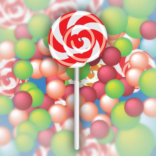 How to Create Your Own Lollipop Vector