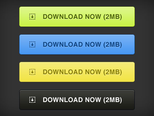 PSD Download Buttons