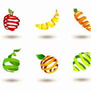 Striped-fruits