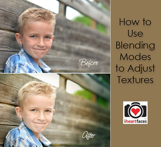 Using Textures & Blending Modes in Photoshop