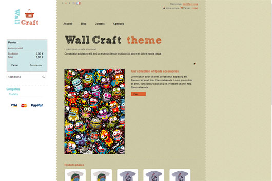 WALLCRAFT THEME PRESTASHOP