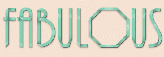 Wow Your Upscale Crowd with This Simple D-I-Y Ribbon Font Text Effect