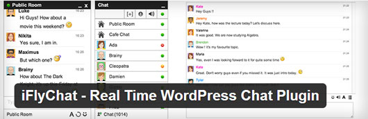 iFlyChat - Real Time WordPress Chat Plugin
