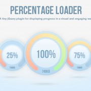 jQuery.PercentageLoader