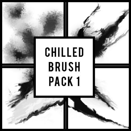 Chilled smudge brush set