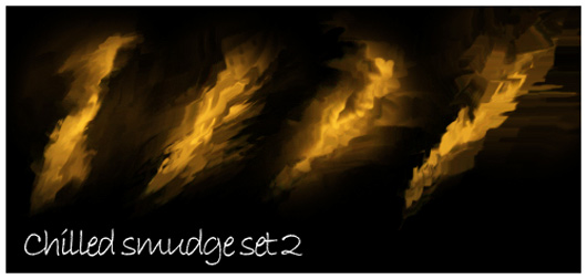 Chilled smudge brushes 2