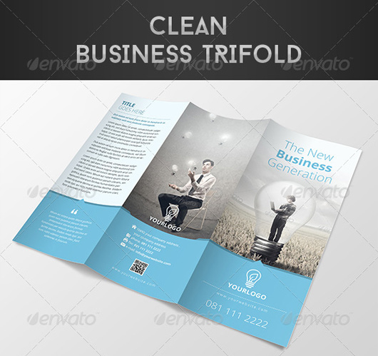 Clean Business Trifold