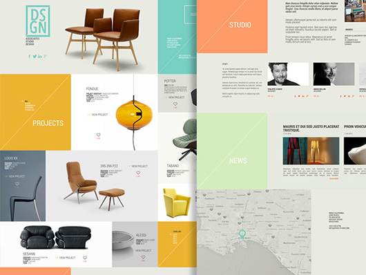 DSGN – Free PSD Template