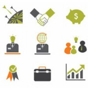 Free Finance and Business Icon Sets