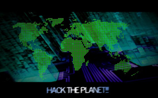 Hack the Planet wallpaper