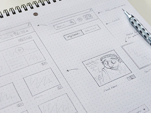 Sketching for web