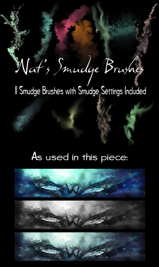Smudge Brush Pack