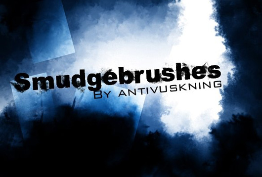Smudge brush set