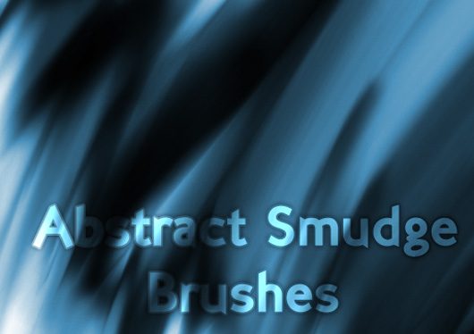 abstract smudge ps brushes