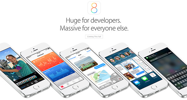 Designer proposed a concept of iOS8 for Greek