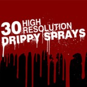 Free Photoshop Drippy Sprays Brushes
