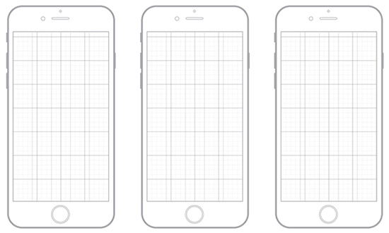iPhone6 Sketch Templates