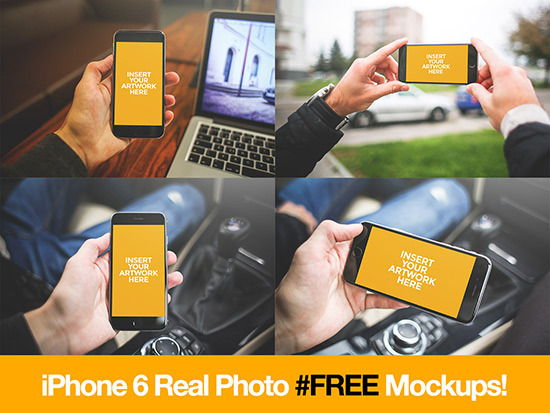 iPhone 6 Mockup Freebie from coolmockups