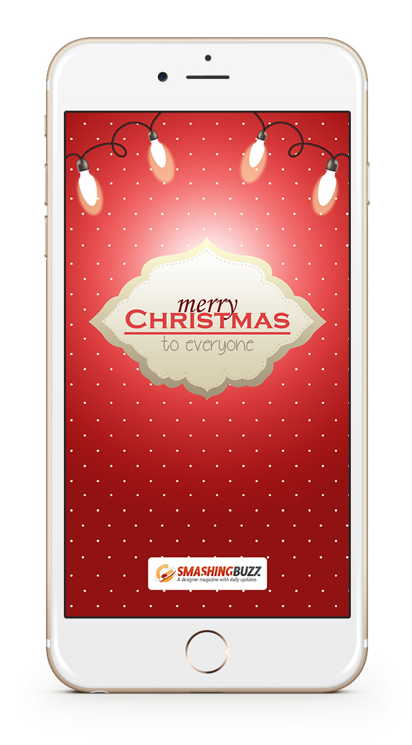 Christmas 2015 Wallpaper for iPhone 6 Plus