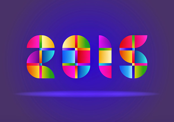 Happy New Year 2015 Desktop Image