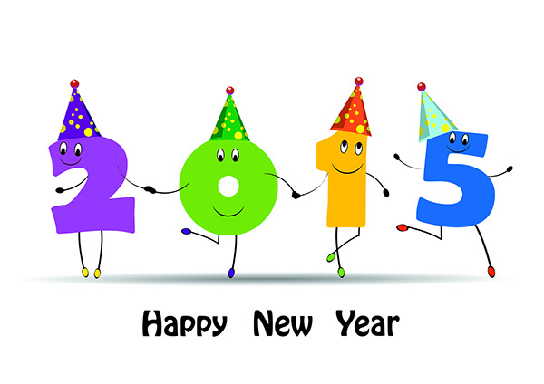 Happy New Year 2015 Professional Wallpaper