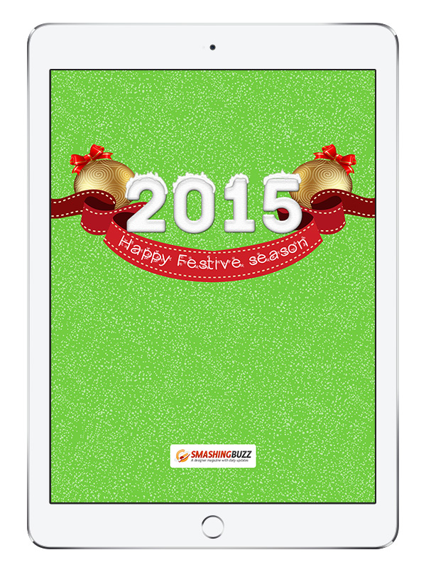 Happy New Year 2015 Wallpaper for iPad Air 2