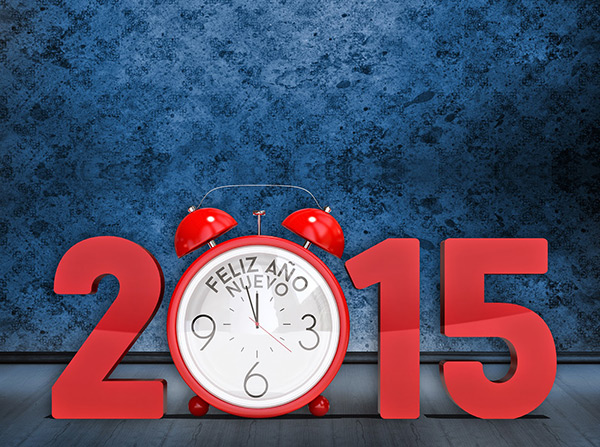 New Year 2015 HD Wallpaper