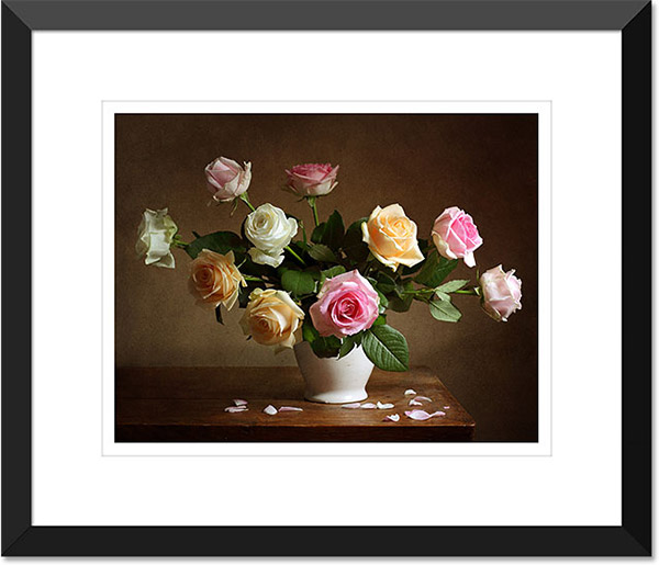 Photoshop Borders And Frames – Matted Picture Frame