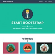 Free One Page Website HTML Templates