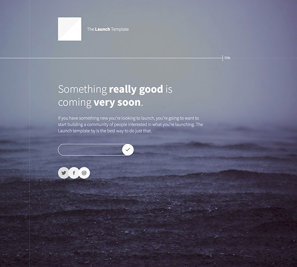 Launch - Free Responsive One Page Website Template