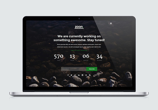 Zoon - Free One Page HTML Template