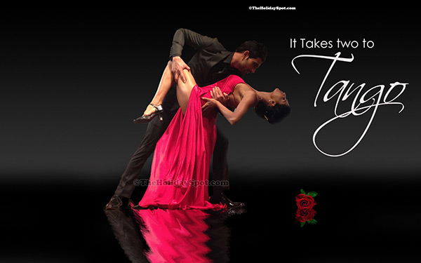 Two to Tango on Valentine's Day 2015