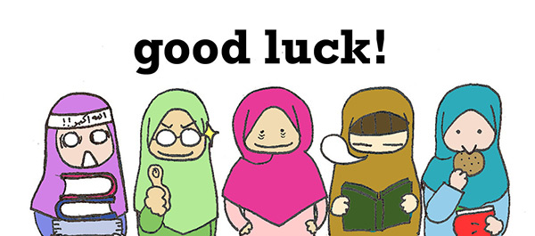 good luck exam coming soon
