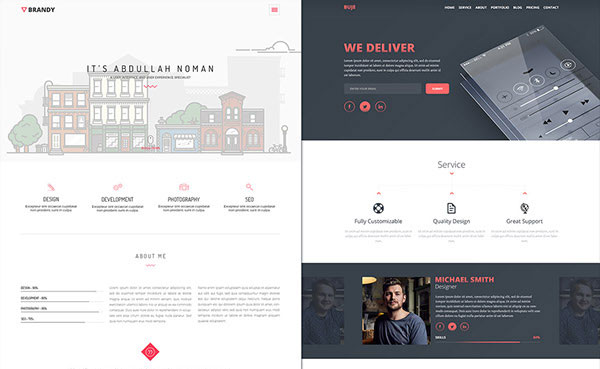 Amazing Free PSD Website Templates