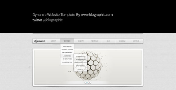 Dynamic General Website Template