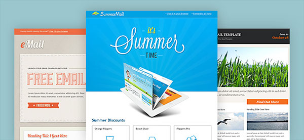 Email PSD template pack