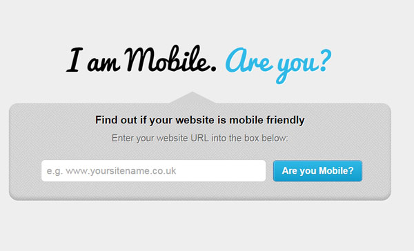 I am Mobile. Are you
