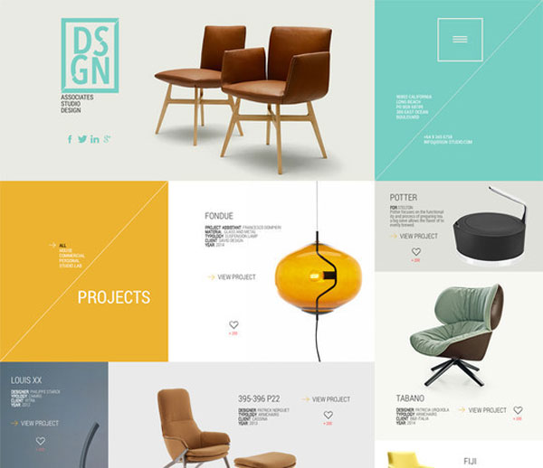 dsgn free psd template