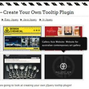 The Best jQuery Tooltip Tutorials