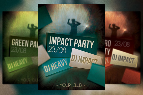 Impact Party Free Flyer