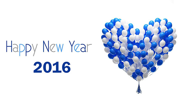 Wallpaper New Year 2016