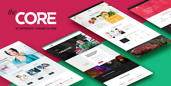 Giveaway:  Win Three the Core Multi-Purpose Themes from ThemeFuse!!!