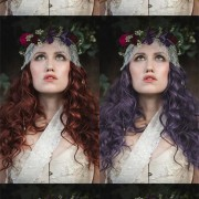 How to change hair colour in Photoshop: Lighten, Tint and create Ombre hair effects