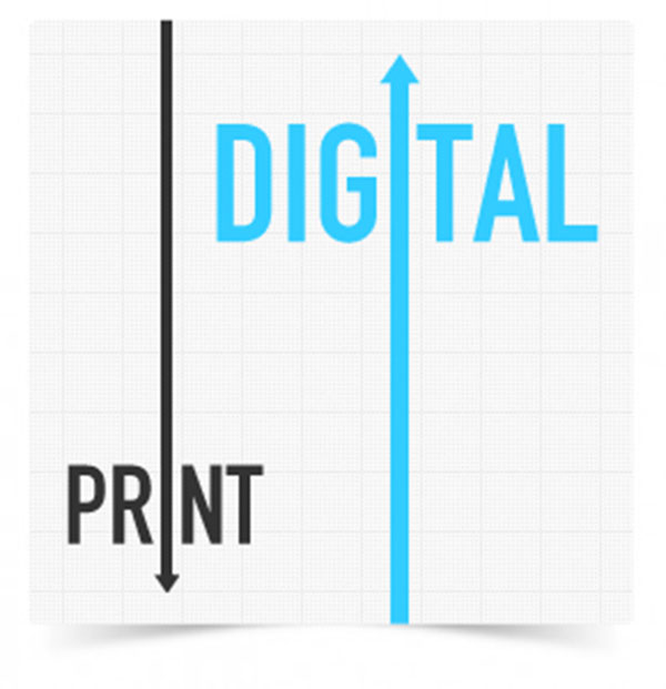 Digital publications have caused the Death of Printed Media