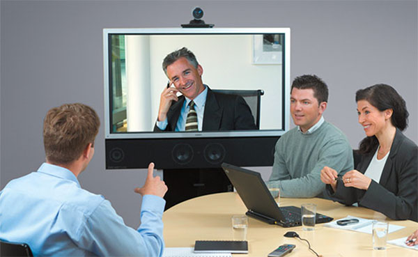 video conference live with clients